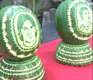 World Cup watermelons carved in China
