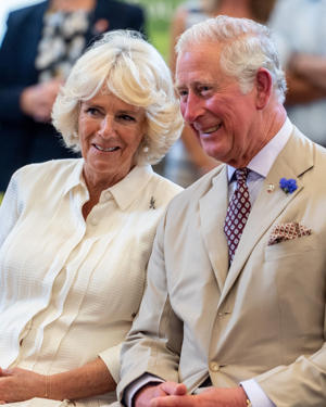 Prince Charles with wife, Camilla, Duchess of Cornwall.