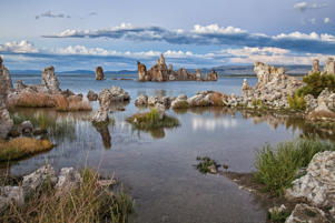 South Tufa formations at Mono Lake, Mono County, California, USA.