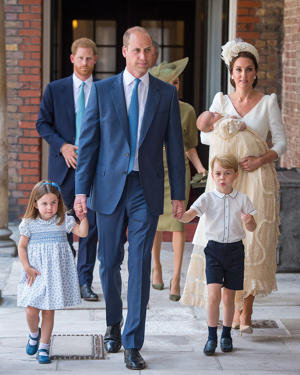 Princess Charlotte, Duke of Cambridge, Prince George and the Duchess of Cambridge - provided by PA