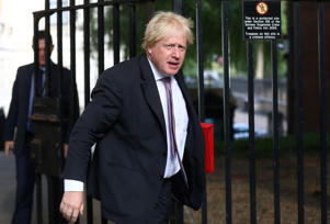 Britain's Secretary of State for Foreign and Commonwealth Affairs Boris Johnson arrives at 10 Downing Street in London, Britain, July 3, 2018. REUTERS/Simon Dawson