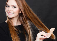 The difference between fine hair and thin hair