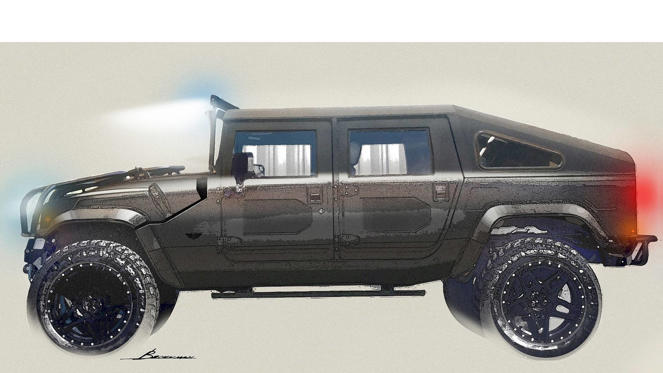 Mil-Spec Automotive Hummer H1 Second Edition render