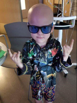 Five-year-old Garrett Matthias' obituary was as unique as he was, his mother Emilie said. He died July 6 after battling cancer.