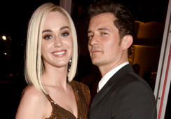 Katy Perry makes quick trip to London to show support for Orlando Bloom