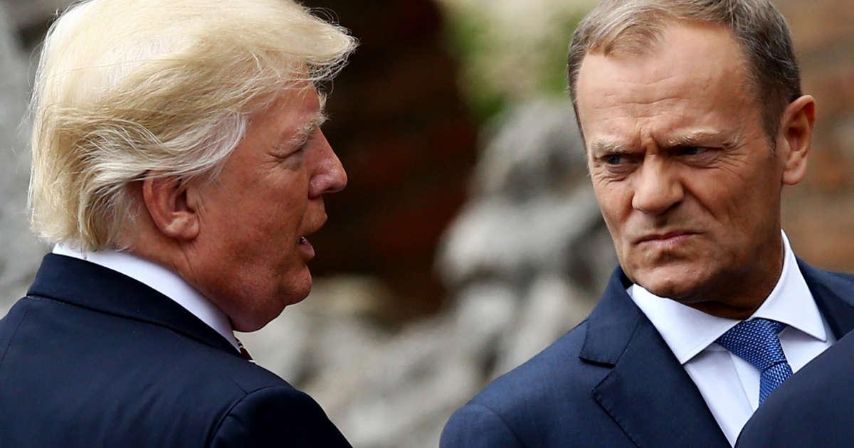 E.U. Leader Warns of 'Worst-Case Scenarios,' Citing Trump