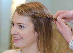 Easy braided hairstyles that will look professionally done
