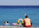 varm blir semester Medelhavet