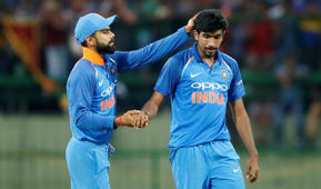 Thumb injury rules Bumrah out of England T20Is