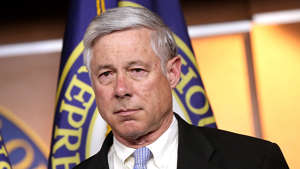 Fred Upton wearing a suit and tie: Upton becomes first member of Congress to vote to impeach two presidents
