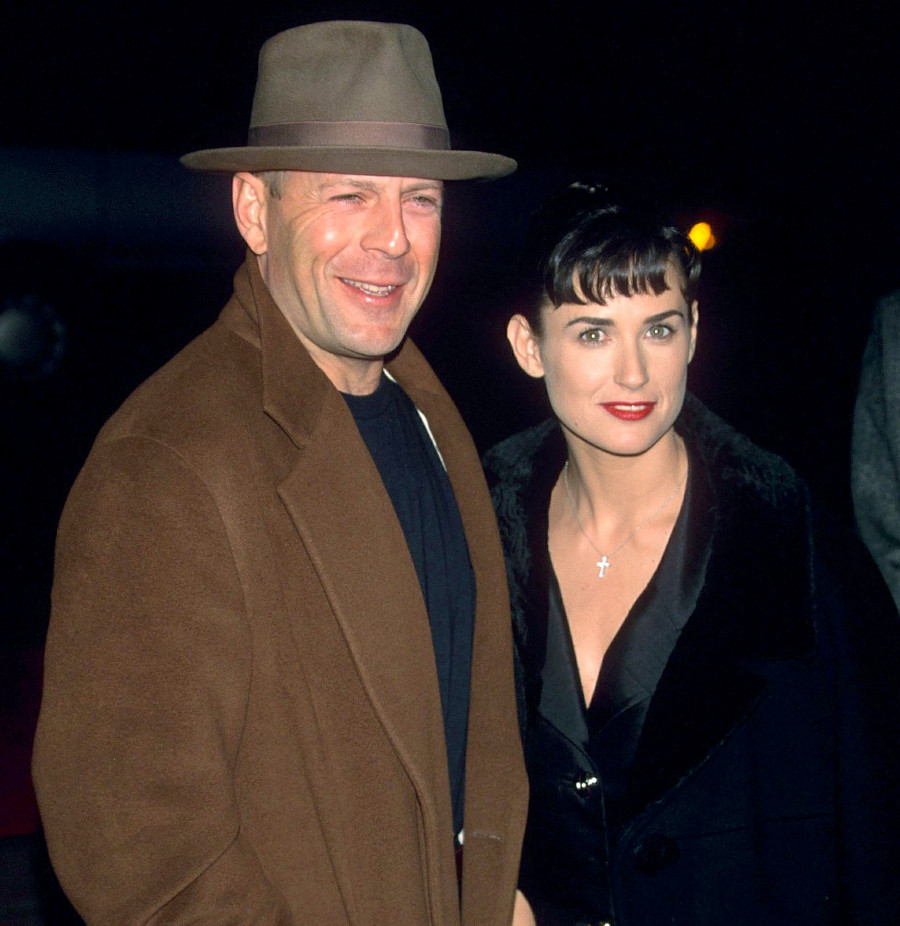 Bruce Willis is in Quarantine with Ex Demi Moore; Current Wife Reacts!