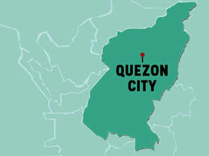 a close up of a map: METRO MANILA CITIES- Quezon City map