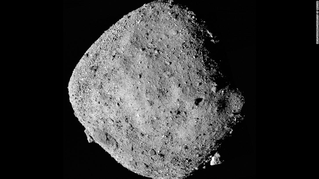 History in the now: First asteroid sample through NASA's OSIRIS-REx mission
