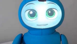 This robot is designed to promote kids' mental health