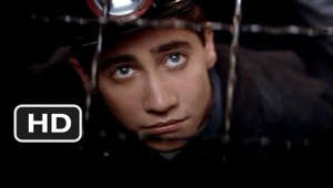 "a close up of a person wearing a hat: October Sky movie clips: http://j.mp/1Jcn5VR BUY THE MOVIE: http://amzn.to/s676Ic Don't miss the HOTTEST NEW TRAILERS: http://bit.ly/1u2y6pr  CLIP DESCRIPTION: Homer Hickam (Jake Gyllenhaal) rebels against his small town ideals by learning rocketry.  FILM DESCRIPTION: NASA engineer Homer H. Hickam, Jr.'s autobiography provided the basis for this drama about a teenager coming of age at the dawn of the space race. In 1957, Homer Hickam (Jake Gyllenhaal) is a high school student in Coalwood, West Virginia when the Soviet Union launches Sputnik, the first man-made satellite. While most of his friends and neighbors react with fear or distrust, Homer is instantly fascinated and begins studying everything he can find on jet and rocket design. While many of Homer's friends are puzzled by his new obsession, several new friends share his enthusiasm, and with the encouragement of his teacher (Laura Dern), Homer and his fellow ""Rocket Boys"" begin designing and launching their own homemade missiles. However, Homer's father (Chris Cooper) takes a dim view of his son's interest in rockets and is convinced Homer's future should be the same as his own, working in the local coal mines. October Sky mixes the drama of traditional family conflicts with a nostalgic glimpse of life in the mid-50's and a look at the earliest days of our journey into space.  CREDITS: TM & © Universal (1999) Cast: Chris Cooper, David Copeland, Chris Ellis, Jake Gyllenhaal, Chris Owen, Natalie Canerday, Laura Dern Director: Joe Johnston Producers: Peter Cramer, Larry J. Franco, Marc Sternberg, Charles Gordon Screenwriters: Homer H. Hickam Jr., Lewis Colick  WHO ARE WE? The MOVIECLIPS channel is the largest collection of licensed movie clips on the web. Here you will find unforgettable moments, scenes and lines from all your favorite films. Made by movie fans, for movie fans.  SUBSCRIBE TO OUR MOVIE CHANNELS: MOVIECLIPS: http://bit.ly/1u2yaWd ComingSoon: http://bit.ly/1DVpgtR Indie & Film Festivals: http://bit.ly/1wbkfYg Hero Central: http://bit.ly/1AMUZwv Extras: http://bit.ly/1u431fr Classic Trailers: http://bit.ly/1u43jDe Pop-Up Trailers: http://bit.ly/1z7EtZR Movie News: http://bit.ly/1C3Ncd2 Movie Games: http://bit.ly/1ygDV13 Fandango: http://bit.ly/1Bl79ye Fandango FrontRunners: http://bit.ly/1CggQfC  HIT US UP: Facebook: http://on.fb.me/1y8M8ax Twitter: http://bit.ly/1ghOWmt Pinterest: http://bit.ly/14wL9De Tumblr: http://bit.ly/1vUwhH7"