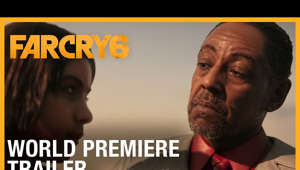 a close up of Giancarlo Esposito: Watch the world premiere of Far Cry 6, featuring Giancarlo Esposito and set in the war-torn world of Yara.   #FarCry6 #Ubisoft   SUBSCRIBE to Ubisoft: http://bit.ly/UbisoftYouTubeChannel   Visit our official channels for more Far Cry:  https://far-cry.ubisoft.com/  https://www.facebook.com/farcry.usa  https://www.instagram.com/farcrygame_us/  https://twitter.com/FarCrygame  https://youtube.com/ubisoftNA  Discover all our Far Cry products and exclusive items on the Ubisoft Store: https://ubi.li/4te3J   ABOUT FAR CRY 6: In Far Cry® 6, players are immersed in the adrenaline-filled, chaotic world of a modern-day guerrilla revolution. Welcome to Yara, a tropical paradise frozen in time. As dictator of Yara, Anton Castillo is intent on restoring his nation back to its former glory by any means, with his son, Diego, following in his bloody footsteps. Become a guerrilla fighter and burn their regime to the ground. Key Features   IGNITE THE FIGHT FOR FREEDOM  Dive into a blockbuster experience as Dani Rojas, a local Yaran defending their country from a tyrant's rule. Join the revolution to push back against the oppressive regime of dictator Anton Castillo and his teenage son Diego, brought to life by Hollywood stars Giancarlo Esposito (The Mandalorian, Breaking Bad) and Anthony Gonzalez (Coco).   YARA TORN APART  For the first time in Far Cry, experience a sprawling capital city: Esperanza, the most expansive Far Cry playground to date. Take down Anton in the seat of his power by staying hidden or engaging Anton's army in an all-out firefight in the streets. From taking the reins of a horse to commandeering a tank, choose your favorite ride to fight against the regime or to just travel Yara in style.   BECOME A GUERRILLA Jump into the action and chaos of guerrilla combat at the heart of a revolution. Employ an arsenal of unique and surprising new weapons, vehicles, and animal companions in a fight against an unyielding military regime. No guerrilla should go it alone, so pair up with an all-new animal companion like Chorizo, the adorable wiener dog who's as cute as he is lethal.   About Ubisoft:  Ubisoft is a creator of worlds, committed to enriching players' lives with original and memorable gaming experiences. Our rich portfolio of world-renowned brands includes: Assassin's Creed, Far Cry, For Honor, Just Dance, Watch Dogs, Tom Clancy's video game series including Ghost Recon, Rainbow Six and The Division. We are dedicated to delivering original and memorable gaming experiences across all popular platforms, including consoles, mobile phones, tablets and PCs. To learn more, please visit www.ubisoft.com.   © 2020 Ubisoft Entertainment. All Rights Reserved. Ubisoft, and the Ubisoft logo are registered or unregistered trademarks of Ubisoft Entertainment in the US and/or other countries.  Far Cry 6: World Premiere Trailer | Ubisoft [NA] https://www.YouTube.com/UbisoftNA