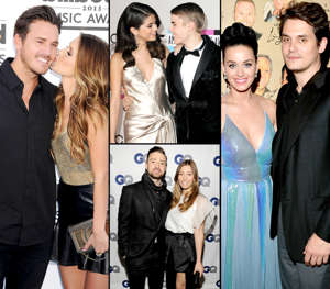 Corey Bohan, Selena Gomez, Justin Timberlake, Jessica Biel, Katy Perry, John Mayer posing for a photo: Some couples just need a break every now and then! Click through to see which of your favorite celebrity couples — like Jessica Biel and Justin Timberlake — couldn't help splitting and rekindling year after year. Awwww: Celebrity Couples With The Most Romantic Love Stories!