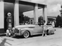 "Decked out in full uniform, including cowboy boots and captain's hats, filling up a tank of gas used to come with a side of style. These female gas station attendants are shown working at an Esso station, which was a phonetic trading name used by Standard Oil (from pronouncing the ""S"" and ""O"" in Standard Oil) in the U.S. until 1966.Related: How Gas Stations Have Totally Transformed Over the Past Century"