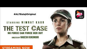a close up of Nimrat Kaur: Will India trust a woman to protect its borders?   Watch Nimrat Kaur, in and as, The Test Case. Directed by Nagesh Kukunoor, streaming now on ALTBalaji.   Stay tuned for more on ALTBalaji Originals, created and curated by Ekta Kapoor  #WebSeries # WebShow  Subscribe: Visit the ALT Balaji website: www.altbalaji.com  Like us on Facebook: https://www.facebook.com/ALTBalaji  Follow us on Twitter: https://twitter.com/altbalaji  Follow us on Instagram: https://www.instagram.com/altbalaji