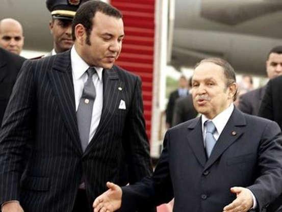 Le roi Mohammed VI et le président algérien. / Ph. DR