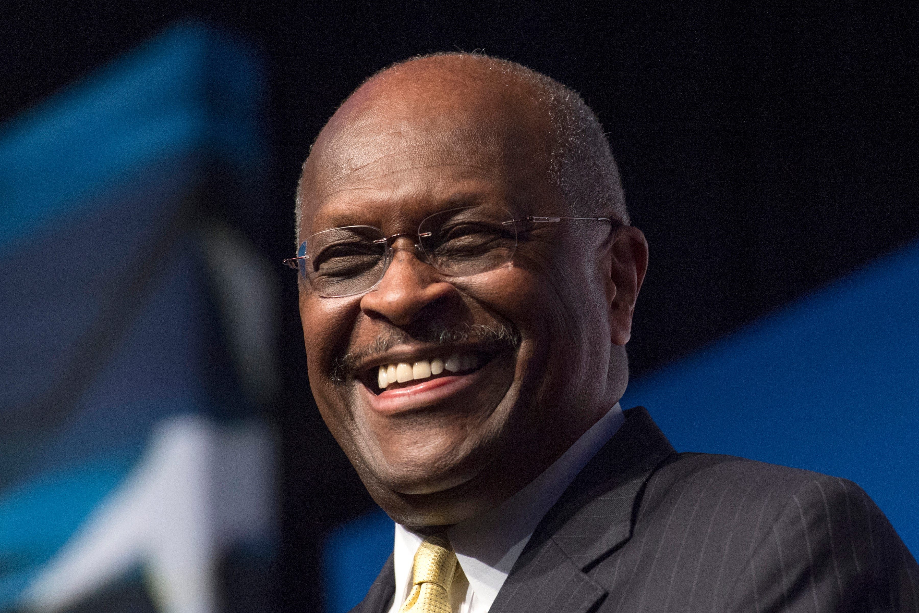 Herman Cain, Co-Chair of Black Voices for Trump, Dies of COVID-19