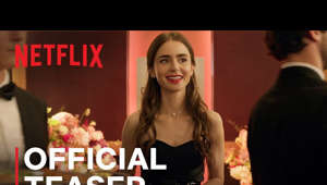 Lily Collins holding a sign: Love. Beauty. Passion. Emily – Just a few of the things you'll find in Paris this fall. Emily in Paris, a new series from creator of Sex and the City, Darren Star, premieres October 2. Only on Netflix.   SUBSCRIBE: http://bit.ly/29qBUt7  About Netflix: Netflix is the world's leading streaming entertainment service with 193 million paid memberships in over 190 countries enjoying TV series, documentaries and feature films across a wide variety of genres and languages. Members can watch as much as they want, anytime, anywhere, on any internet-connected screen. Members can play, pause and resume watching, all without commercials or commitments.  Emily in Paris | Official Teaser & Date Announce | Netflix https://youtube.com/Netflix  After landing her dream job in Paris, Chicago marketing exec Emily Cooper embraces her adventurous new life while juggling work, friends and romance.