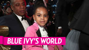 JAY-Z, Blue Ivy Carter are posing for a picture