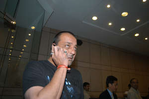 Bollywood actor Sanjay Dutt.