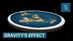 Today, it's nearly impossible to believe the Earth is anything but round. But for most of our history, humans have thought Earth was flat.  The one concept our ancient ancestors were missing was gravity. Gravity's effects are the key to determining whether the Earth is actually flat, or not.  On a sphere, gravity pulls in the same direction everywhere on the surface. But on a disc, gravity changes direction as you move toward the edge.  At the center, you feel a downward pull just like on spherical Earth. But as you move out, gravity starts pulling sideways as well as a downwards.  This would wreak havoc on sports played in different parts of the world. A ball thrown straight up in the air mid-way out, would curve down and backward toward the disc's center. Plus, a ball thrown mid-way out wouldn't go nearly as high or far as a ball thrown up at the edge where gravity's downward pull is practically zero.  But sports are just the beginning. Since plant stems grow opposite to the direction of gravity, an effect called negative gravitropism, you'll see forests grow at an increasingly sharp angle the farther you are from the center.  Continue toward the edge and you feel like you're climbing a hill that's growing steeper with each step as the backward pull of gravity takes over. At Earth's end, that hill will feel like a 90-degree cliff, pulling you back to the center. But if you could make it over the edge, and stand on the thin outer part of the disc, you'll feel downward pull just like on spherical Earth.  However, living here would be like living in a desert. Gravity's backward effects pull on the oceans too, making it impossible for any water to reach the edge. Instead, sea levels will gradually rise as you travel in, making the world's center an aquatic metropolis.  So, the next time you see an apple fall straight to the ground, thank your lucky stars that Earth is round. Because if it were flat, that apple might actually hit you in the face.  Tech Insider tells you all you need to know about tech: gadgets, how-to's, gaming, science, digital culture, and more.  Subscribe to our channel and visit us at: http://www.businessinsider.com/sai TI on Facebook: https://www.facebook.com/techinsider TI on Instagram: https://www.instagram.com/tech_insider/ TI on Twitter: https://twitter.com/techinsider