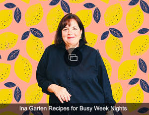 Ina Garten posing for a photo