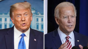 Donald Trump, Joe Biden are posing for a picture: Foreign Policy is on the Ballot in 2020; So is American Credibility