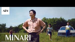 a man standing on top of a grass covered field: SUBSCRIBE: http://bit.ly/A24subscribe  From writer/director Lee Isaac Chung and starring Steven Yeun, Yeri Han, Alan Kim, Noel Kate Cho, and Yuh-Jung Youn. MINARI — Coming Soon.     DIRECTOR: Lee Isaac Chung  CAST: Steven Yeun, Yeri Han, Alan Kim, Noel Kate Cho, and Yuh-Jung Youn  Follow Minari on Instagram: http://bit.ly/Minari_Instagram Like Minari on Facebook: http://bit.ly/Minari_Facebook Follow Minari on Twitter: http://bit.ly/Minari_Twitter  ------  ABOUT A24: The studio behind MOONLIGHT, LADY BIRD, EX MACHINA, THE WITCH, EIGHTH GRADE, HEREDITARY & more.  Coming Soon: Saint Maud, The Green Knight, Zola  Subscribe to A24's NEWSLETTER: http://bit.ly/A24signup Visit A24 WEBSITE: http://bit.ly/A24filmsdotcom Like A24 on FACEBOOK: http://bit.ly/FBA24 Follow A24 on TWITTER: http://bit.ly/TweetA24 Follow A24 on INSTAGRAM: http://bit.ly/InstaA24