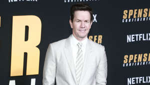 Mark Wahlberg wearing a suit and tie: You'd be forgiven to only know Wahlberg for his movie career due to him starring in such huge box office hits such as 'The Departed', 'Ted' and 'Daddy's Home'. But he actually rose to fame as part of the musical troupe Marky Mark and the Funky Bunch. He transitioned from music to acting, with his screen debut in 'Renaissance Man' in 1994.