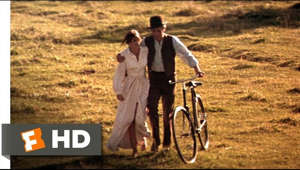"Butch Cassidy and the Sundance Kid movie clips: http://j.mp/1cM6e0Y BUY THE MOVIE: FandangoNOW - https://www.fandangonow.com/details/movie/butch-cassidy-and-the-sundance-kid-1969/1MV0e4573e56095d0c92b2221d84a8914bf?cmp=Movieclips_YT_Description iTunes - http://apple.co/1HigUPg Google Play - http://bit.ly/1QPzlzm Amazon - http://amzn.to/1A4WVnI Fox Movies - http://fox.co/2zRIXri Don't miss the HOTTEST NEW TRAILERS: http://bit.ly/1u2y6pr  CLIP DESCRIPTION: Butch (Paul Newman) shows off his bike skills to Etta (Katharine Ross) on a carefree morning.  FILM DESCRIPTION: Opening with a silent ""movie"" of Butch Cassidy's Hole in the Wall Gang, George Roy Hill's comically elegiac Western chronicles the mostly true tale of the outlaws' last months. Witty pals Butch (Paul Newman) and Sundance (Robert Redford) join the Gang in successfully robbing yet another train with their trademark non-lethal style. After the pair rests at the home of Sundance's schoolmarm girlfriend, Etta (Katharine Ross), the Gang robs the same train, but this time, the railroad boss has hired the best trackers in the business to foil the crime. After being tailed over rocks and a river gorge by guys that they can barely identify save for a white hat, Butch and Sundance decide that maybe it's time to try their luck in Bolivia. Taking Etta with them, they live high on ill-gotten Bolivian gains, but Etta leaves after their white-hatted nemesis portentously arrives. Their luck running out, Butch and Sundance are soon holed up in a barn surrounded by scores of Bolivian soldiers who are waiting for the pair to make one last run for it.  CREDITS: TM & © Fox (1969) Courtesy of Twentieth Century Fox Film Corporation Cast: Paul Newman, Katharine Ross Director: George Roy Hill Producers: Paul Monash, Paul Newman, John Foreman Screenwriter: William Goldman  WHO ARE WE? The MOVIECLIPS channel is the largest collection of licensed movie clips on the web. Here you will find unforgettable moments, scenes and lines from all your favorite films. Made by movie fans, for movie fans.  SUBSCRIBE TO OUR MOVIE CHANNELS: MOVIECLIPS: http://bit.ly/1u2yaWd ComingSoon: http://bit.ly/1DVpgtR Indie & Film Festivals: http://bit.ly/1wbkfYg Hero Central: http://bit.ly/1AMUZwv Extras: http://bit.ly/1u431fr Classic Trailers: http://bit.ly/1u43jDe Pop-Up Trailers: http://bit.ly/1z7EtZR Movie News: http://bit.ly/1C3Ncd2 Movie Games: http://bit.ly/1ygDV13 Fandango: http://bit.ly/1Bl79ye Fandango FrontRunners: http://bit.ly/1CggQfC  HIT US UP: Facebook: http://on.fb.me/1y8M8ax Twitter: http://bit.ly/1ghOWmt Pinterest: http://bit.ly/14wL9De Tumblr: http://bit.ly/1vUwhH7"