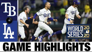 The Dodgers rallied in the 6th, then Mookie Betts homered to lead the Dodgers to a World Series victory, their 1st championship in 32 years  Don't forget to subscribe! https://www.youtube.com/mlb
