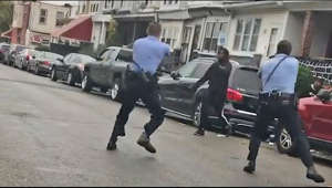 "Police in Philadelphia fatally shot a 27-year-old black man after yelling at him to drop his knife, sparking protests that left an officer hospitalised after being hit by a truck.   The shooting of Walter Wallace Jr. occurred on Monday afternoon, local time. Police were called to an incident in the Cobbs Creek neighbourhood as they responded to reports of an individual with a weapon.  Police spokesperson Tanya Little said the officers instructed Mr Wallace to put down his knife, but he instead ""advanced towards"" them. Both officers then fired ""several times"".  Subscribe to The Telegraph on YouTube ► https://bit.ly/3idrdLH  Get the latest headlines: https://www.telegraph.co.uk/  Telegraph.co.uk and YouTube.com/TelegraphTV are websites of The Telegraph, the UK's best-selling quality daily newspaper providing news and analysis on UK and world events, business, sport, lifestyle and culture."