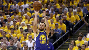 Stephen Curry standing in front of a crowd: We have watched the three-point shot come to dominate basketball in recent years. Records are falling left and right. Guys are pulling up from the logo and swishing treys. People who like to erroneously claim jump-shooting teams can't win titles are increasingly grasping at straws. Larry Bird, one of the best shooters ever, took 1.9 threes per game over his career. A whopping 197 players beat that last season. Three-point records have primarily been set over the last five seasons. With that in mind, here are the players who have made the most threes for every NBA team.