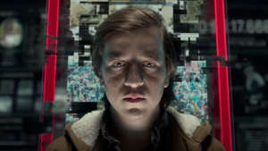 a person standing in front of a store: You won't look at your phone the same way after watching this powerful Netflix docudrama about the dangers of social networking. In fact, it might even convince you to stop looking at it altogether (at least for a little while).