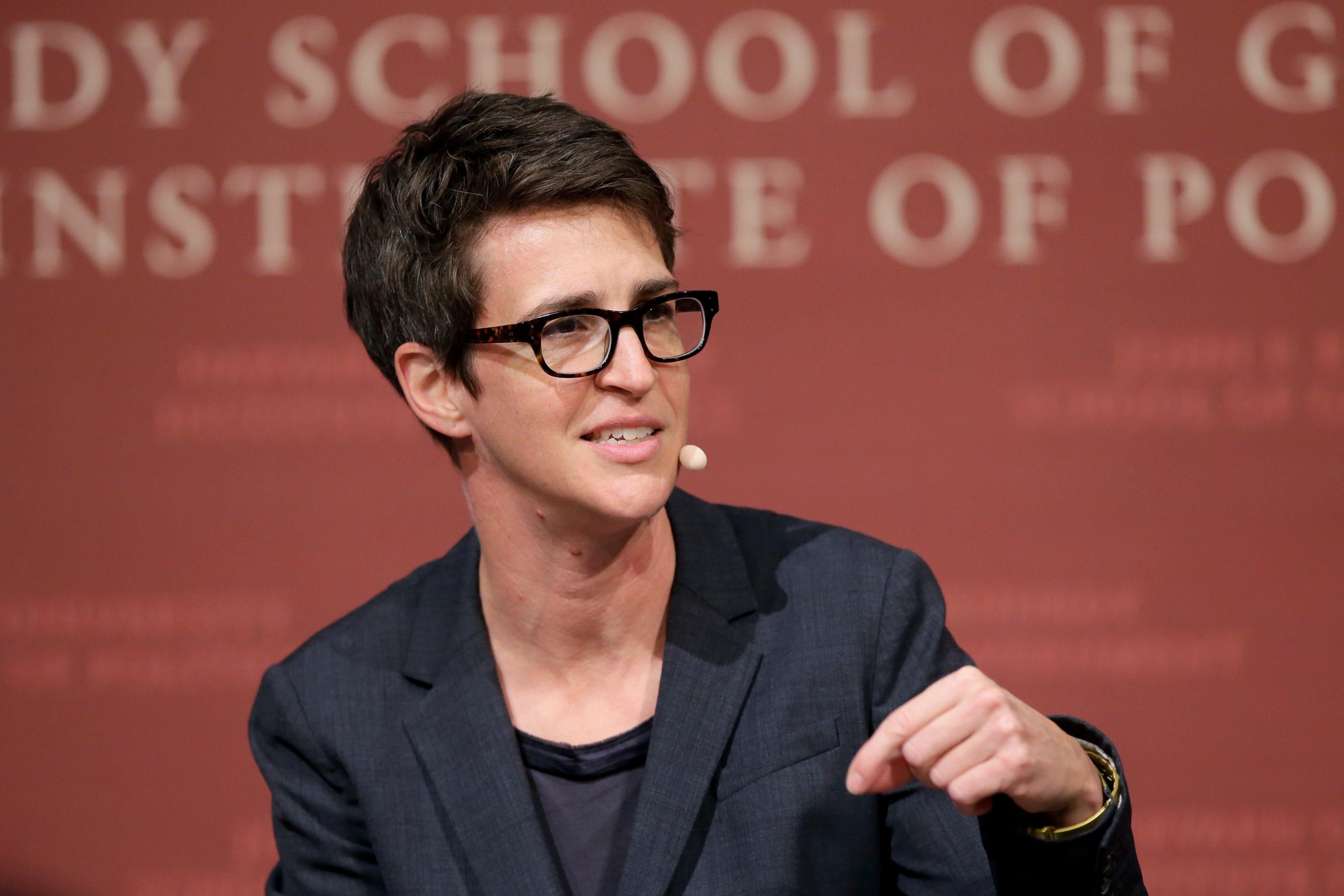 Rachel Maddow Thought Her Partner's COVID Battle 'Might Kill Her'