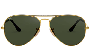 a close up of sunglasses: Ray-Ban Rb3025 Classic Pilot Sunglasses