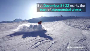 What's the difference between astronomical and meteorological winter?