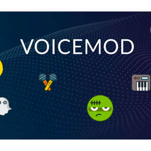 graphical user interface: voicemod app