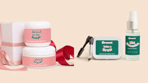 a cup on a counter: Snag skincare essentials for your face and body at Ornami Skincare.