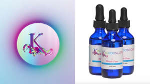 Keep your hair looking and feeling healthy with the multi-purposeful Kaleidoscope Miracle Drops.