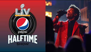 graphical user interface: The Weeknd performs at the Super Bowl LV Pepsi Halftime Show.  Subscribe to NFL: http://j.mp/1L0bVBu Check out our other channels: Para más contenido de la NFL en Español, suscríbete a https://www.youtube.com/nflenespanol NFL Fantasy Football https://www.youtube.com/nflfantasyfootball NFL Vault http://www.youtube.com/nflvault NFL Network http://www.youtube.com/nflnetwork NFL Films http://www.youtube.com/nflfilms NFL Rush http://www.youtube.com/nflrush NFL Play Football https://www.youtube.com/playfootball NFL Podcasts https://www.youtube.com/nflpodcasts #SuperBowlLV #TheWeeknd