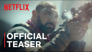 a close up of a man: A Zack Snyder film. On Netflix May 21.   Following a zombie outbreak in Las Vegas, a group of mercenaries take the ultimate gamble, venturing into the quarantine zone to pull off the greatest heist ever attempted.  Starring Dave Bautista, Ella Purnell, Ana de la Reguera, Matthias Schweighöfer, Nora Arnezeder, Hiroyuki Sanada, Raúl Castillo, Michael Cassidy, and Garret Dillahunt.  Story by Zack Snyder   Screenplay by Zack Snyder & Shay Hatten and Joby Harold   Directed by Zack Snyder  SUBSCRIBE: http://bit.ly/29qBUt7  About Netflix: Netflix is the world's leading streaming entertainment service with 204 million paid memberships in over 190 countries enjoying TV series, documentaries and feature films across a wide variety of genres and languages. Members can watch as much as they want, anytime, anywhere, on any internet-connected screen. Members can play, pause and resume watching, all without commercials or commitments.  Army of the Dead | Official Teaser | Netflix https://youtube.com/Netflix