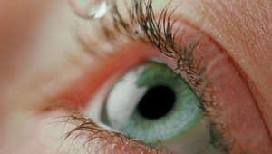 a close up of a persons eyes: New medicated eye drop submitted to FDA could help people who need reading glasses
