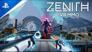 Immerse yourself alongside other players in an anime-inspired VR MMO featuring thrilling action RPG gameplay.  Welcome to Zenith.