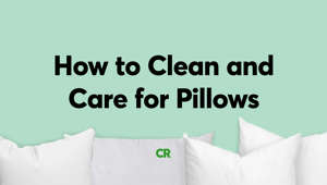 How to Clean and Care for Pillows