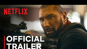 Dave Bautista looking at the camera: In Select Theaters May and on Netflix May 21.  From filmmaker Zack Snyder (300, Watchmen, Zack Snyder's Justice League), ARMY OF THE DEAD takes place following a zombie outbreak that has left Las Vegas in ruins and walled off from the rest of the world. When Scott Ward (Dave Bautista), a former zombie war hero who's now flipping burgers on the outskirts of the town he now calls home, is approached by casino boss Bly Tanaka (Hiroyuki Sanada), it's with the ultimate proposition: break into the zombie-infested quarantine zone to retrieve $200 million sitting in a vault beneath the strip before the city is nuked by the government in 32 hours. With little left to lose, Ward takes on the challenge, assembling a ragtag team of experts for the heist. With a ticking clock, a notoriously impenetrable vault, and a smarter, faster horde of Alpha zombies closing in, only one thing's for certain in the greatest heist ever attempted: survivors take all.  Starring Dave Bautista, Ella Purnell, Omari Hardwick, Ana de la Reguera, Theo Rossi, Matthias Schweighöfer, Nora Arnezeder, Hiroyuki Sanada, Tig Notaro, Raúl Castillo, Huma Qureshi, Samantha Win, Michael Cassidy, Richard Cetrone, and Garret Dillahunt.  SUBSCRIBE: http://bit.ly/29qBUt7  About Netflix: Netflix is the world's leading streaming entertainment service with 204 million paid memberships in over 190 countries enjoying TV series, documentaries and feature films across a wide variety of genres and languages. Members can watch as much as they want, anytime, anywhere, on any internet-connected screen. Members can play, pause and resume watching, all without commercials or commitments.  Army of the Dead | Official Trailer | Netflix  https://youtube.com/Netflix  After a zombie outbreak in Las Vegas, a group of mercenaries takes the ultimate gamble by venturing into the quarantine zone for the greatest heist ever.